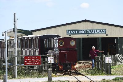 Fancy owning an entire railway? A Hayling Island service
