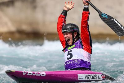 CANOEING: Kimberley Woods misses World Cup gold by just half