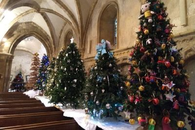 Christmas Grinch Decorations.Christmas Tree Festival Returns To Shoreham By Popular