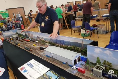 Club chuffed to bits at growing success of model railway