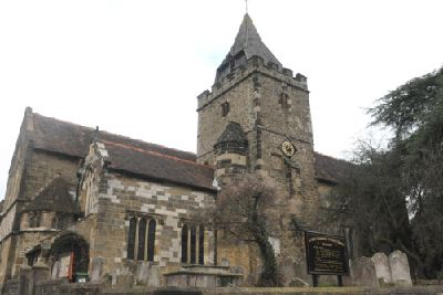 Were you married at St Mary Magdalene and St Denys church in