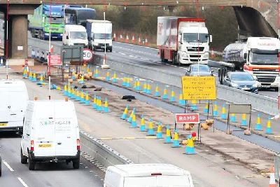 A27, A23 and M23 road closures planned for the coming week