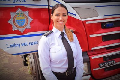 New West Sussex chief fire officer officially takes up post