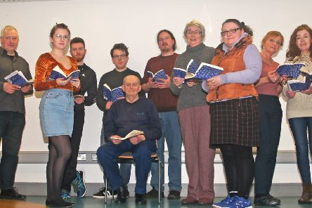 The Ad Hoc Theatre Group is performing a polished reading of Under Milk Wood at The Braid Arts Centre, in the Studio Theatre, on Saturday 6th April, starting at 2pm.