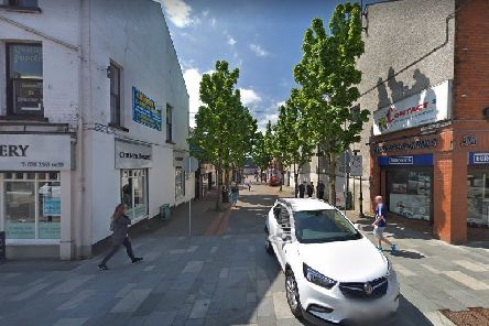 Greenvale Street is to benefit from �632,000 public realm works.  Picture: Google