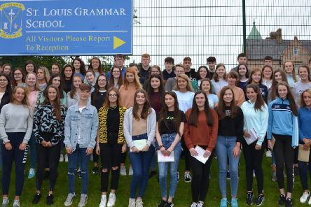 Top GCSE results for St Louis pupils