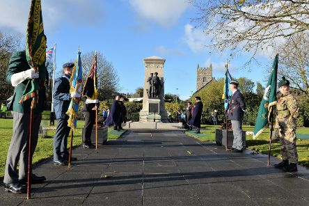 Remembrance services will be held across the borough (file image).