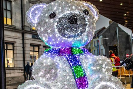 Christmas lights switch on in Ballymena on Thursday, November 14