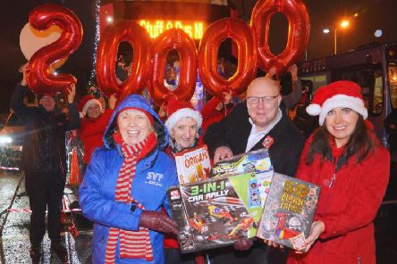 Pauline Brown, St Vincent de Paul, Jacqueline Wright, The Salvation Army, Peter McVerry, U105 and Ursula Henderson, Translink