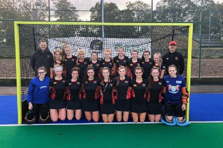 Banbridge Academy Girls' Hockey  get ready for the Semi-Final of the Ulster Schools' Superleague
