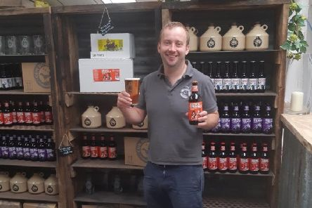 James Pickering of Gun Dog Ales