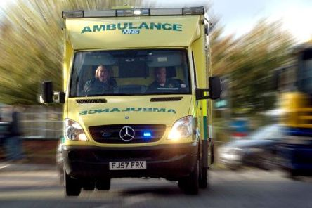Ambulance crews said nothing could be done to save the motorcyclist