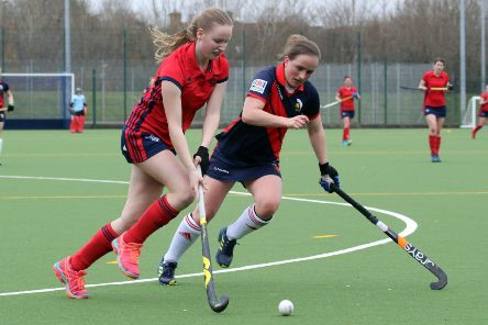 Vicky Warlow bagged a brace for Banbury