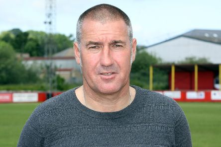 Banbury United manager Mike Ford