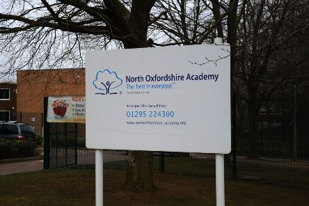 North Oxfordshire Academy where two pupils failed to attend regularly and their parents have been prosecuted