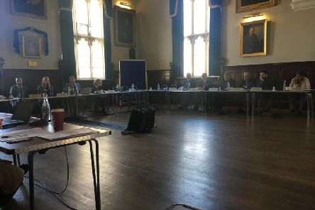 The Horton joint health overview and scrutiny committee meeting at Banbury Town Hall