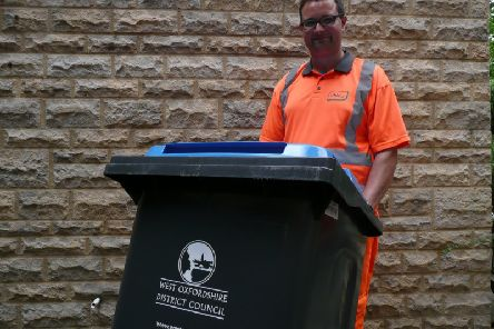 Electrical items, chemicals and batteries should not be put in these recycling bins