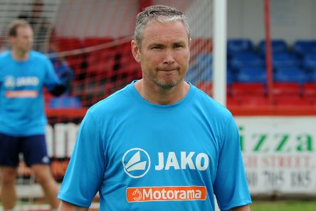 Brackley Town boss Kevin Wilkin was well satisfied with Saturday's display at Curzon Ashton