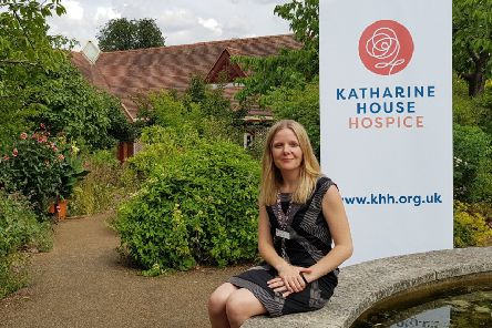 Katharine House Hospice chief executive Angharad Orchard