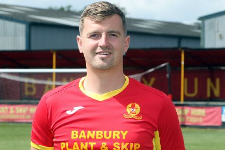 Banbury United striker John Mills was on target again at Stourbridge