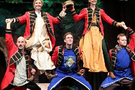 Robin Hood and The Revolting Peasants takes to the stage at the Quarry Theatre