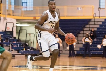 New Storm signing Greg Poleon, pictured here playing for Pace University of New York.