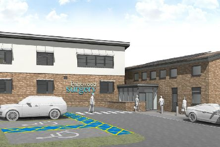 What the new extension and refurbishment of Parkwood Surgery could look like, from architects JTP