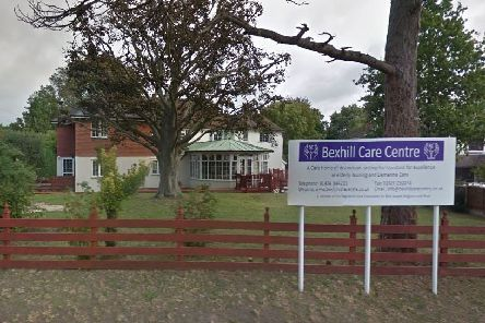 Bexhill Care Centre. Picture: Google Street View SUS-190314-160413001
