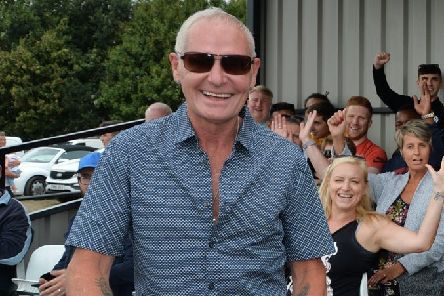 Paul Gascoigne is coming to Hastings this May. Picture courtesy Andrew Carpenter