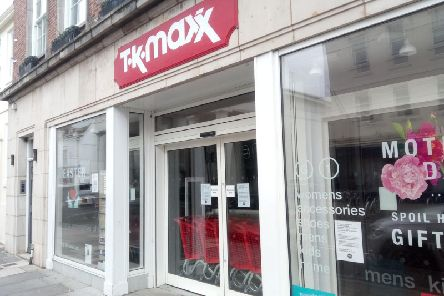 TK Maxx in Chichester