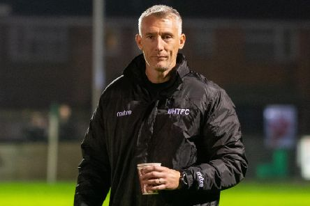 Burgess Hill manager Jay Lovett / Picture: Chris Neal