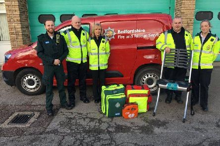 Bedfordshire Fire and Rescue crews will be supporting the East of England Emergency Service NHS Trust (EEAST) in responding to non-emergency falls patients
