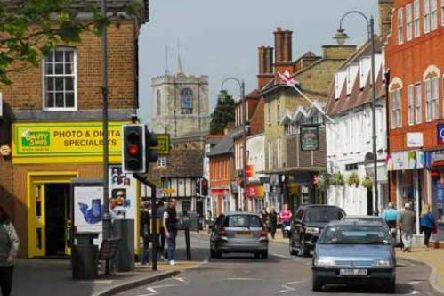 Biggleswade topped the list for best value or most undervalued, commuter town
