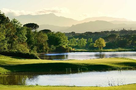 The 13th hole of the stunning Stadium Course at PGA Catalunya