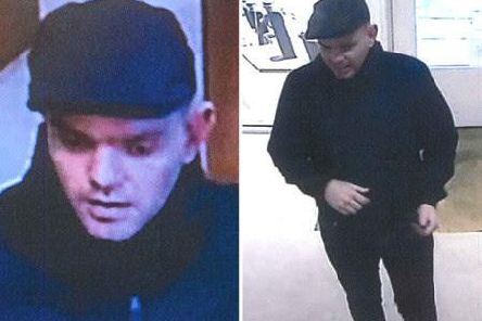 Police are looking to identify this man. Picture provided by Sussex Police