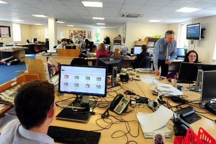 The Chichester newsroom