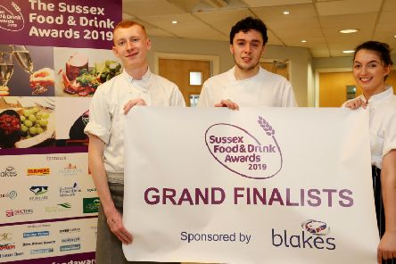 The grand finalists, Charlie, Dan and Isabella