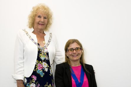 Jeanette Warr, new Arun District Council, and Amanda Worne, new vice chairman of the council