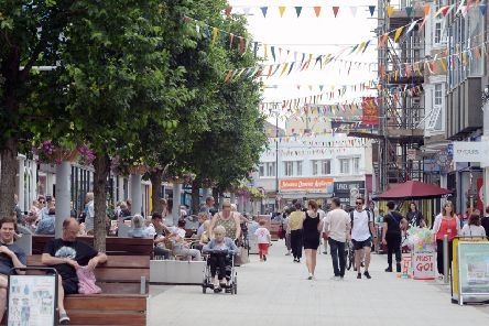 Millions of investment has been spent improving Bognor Regis town centre, including London Road