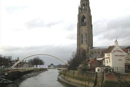 St Botolph's footbridge is to close for two days to allow it to be cleaned.