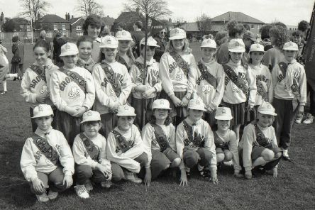 The Wyberton Brownies ahead of Boston's annual St George's Day parade in 1994. Open the gallery to see more photos from the day.