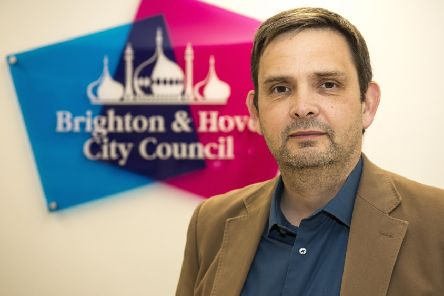 Cllr Daniel Yates, leader of the Labour Group on Brighton & Hove City Council