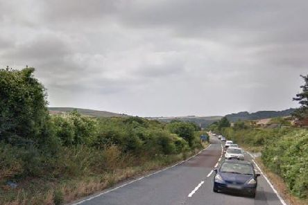 A collision on the A273 caused delays to rail replacement bus services (Credit: Google Maps)