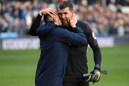 Brighton & Hove Albion goalkeeper Mathew Ryan (right). Picture courtesy of Getty Images.