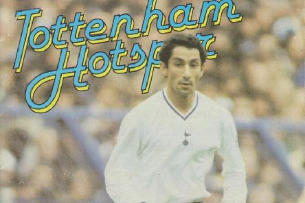 The front cover of the programme when Brighton played away to Tottenham in 1981.