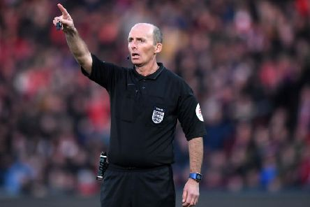 Mike Dean. Picture by Getty Images