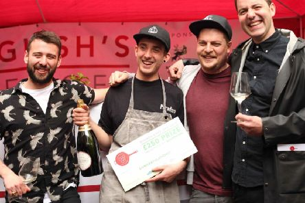 Jan Tlusty of The Paradiso Social was crowned the winner