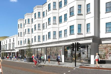 An artist impression of revamped North Street
