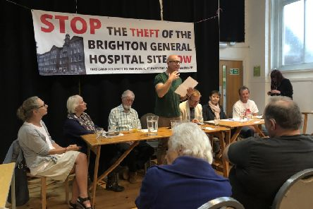 Hospital campaigners' plea to keep land in public ownership