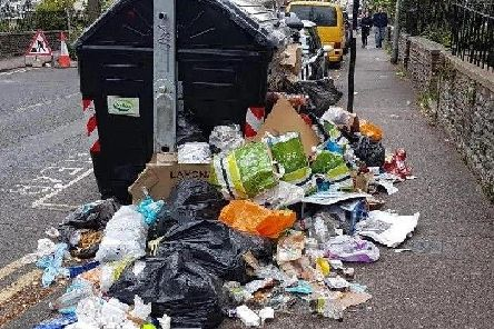 The first day of Brighton bin strike action will be Monday July 29